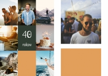 Fotokniha 40. narodeniny , 20x30 cm