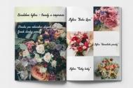 Mäkká fotokniha Svadobné kytice, 20x30 cm