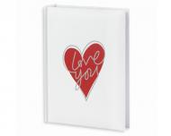 Fotoalbum Love you - 300 fotografií, 20x25 cm