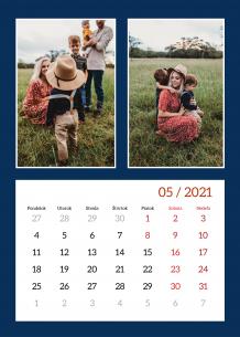 Kalendár, Pekný kalendár, 30x40 cm