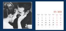 Kalendár, Pekný kalendár, 22x10 cm