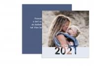 Fotopriania Šťastný rok 2021!, 14x14 cm