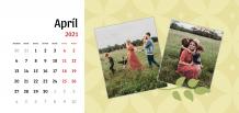 Kalendár, Naša rodina, 22x10 cm