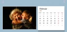 Kalendár, Najlepšia babka na svete, 22x10 cm