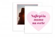 Fotopriania Moja mama, 14x14 cm