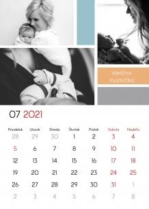 Kalendár, Ďakujem, Mami, 20x30 cm
