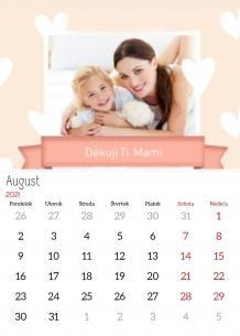 Kalendár, Všetko najlepšie, mamička, 20x30 cm