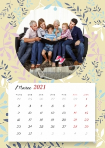 Kalendár, Najlepšia babka na svete, 20x30 cm