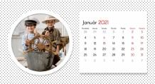 Kalendár, Zbierka spomienok, 22x10 cm