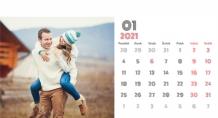 Kalendár, Váš kalendár lásky, 22x10 cm