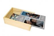 Drevená krabička, Naša rodina, 12x17 cm