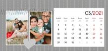 Kalendár, Milovaným prarodičom, 22x10 cm