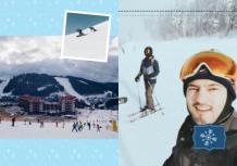 Fotokniha Spomienky na mrazivú zimu, 20x30 cm