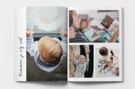 Mäkká fotokniha Koláž z rodinných fotiek, 20x30 cm
