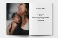 Mäkká fotokniha Narodenie, 20x30 cm