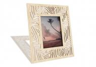 Drevené fotorámčeky Listy monstery, 18x22 cm