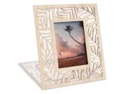 Drevené fotorámčeky Palmové listy, 18x22 cm