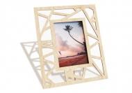 Drevené fotorámčeky Trojuholníky, 18x22 cm