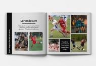 Mäkká fotokniha Pre stredoškolákov , 20x20 cm