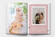 Mäkká fotokniha Ďakujeme svadobným hosťom, 20x30 cm