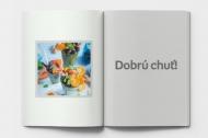 Mäkká fotokniha Menu reštaurácie , 15x20 cm