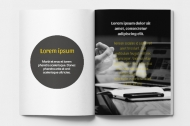 Mäkká fotokniha Katalóg marketingovej agencie, 20x30 cm