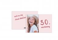 Fotopriania 30. narodeniny , 20x15 cm