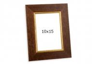 Fotorámček Retro hnedá, 10x15 cm