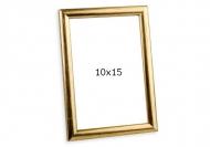 Fotorámček Stierané zlato, 10x15 cm
