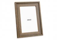 Fotorámček Hnedý maľovaný, 10x15 cm