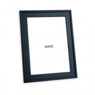 Fotorámček Čierna s okrajom, 10x15 cm