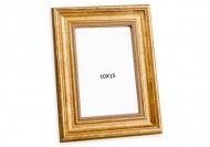 Fotorámček Dekoratívny zlatý, 10x15 cm