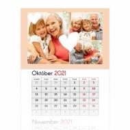 Trojmesačný kalendár , Pre milovanú babičku, 30x85