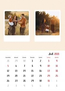 Kalendár, Vaše fotky z Instagramu, 20x30 cm