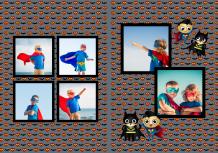 Fotokniha Malý superhrdina, 20x30 cm