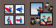 Fotokniha Malý superhrdina, 20x20 cm