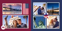 Fotokniha Dovolenka v Spojených štátoch, 30x30 cm