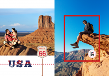 Fotokniha Dovolenka v Spojených štátoch, 20x30 cm