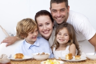 Tričko detská, Moderná rodinka